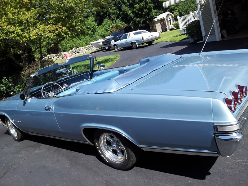 Chevrolet Impala Cab Blue 65